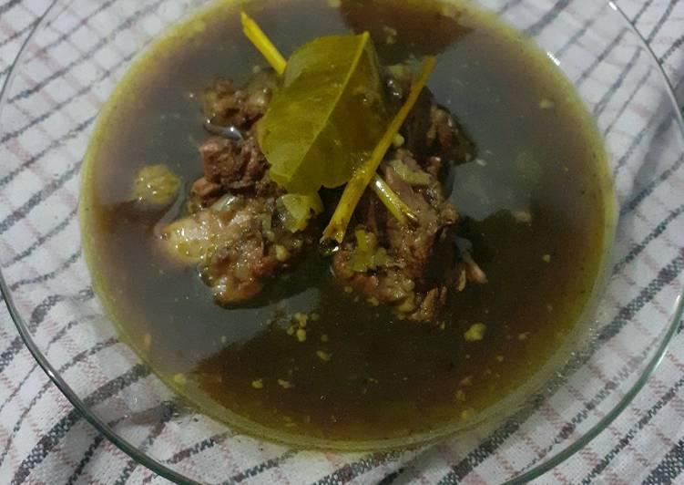 Rawon Tetelan Daging Sapi