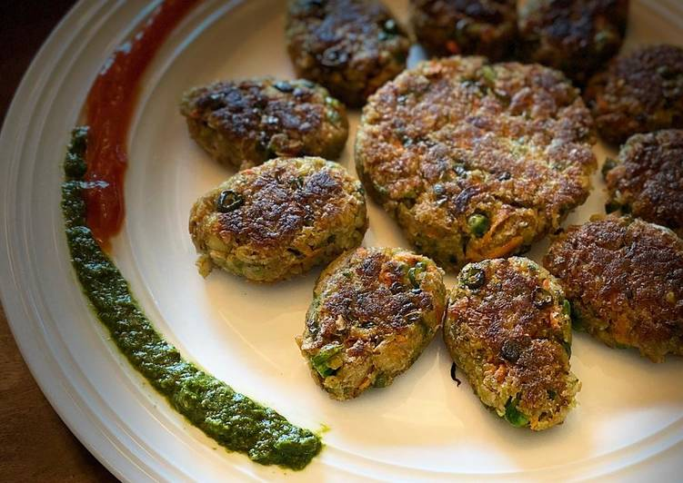 Easiest Way to Make Tasty Soya cutlets