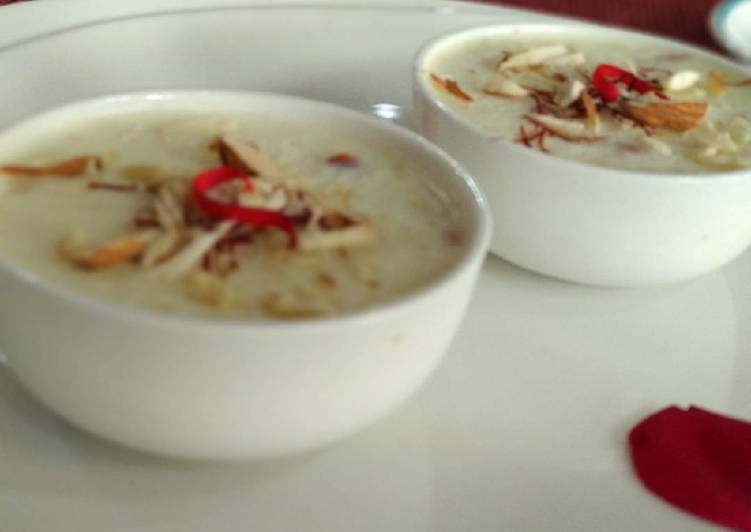 Easiest Way to Prepare Top-Rated Indian Rice Pudding