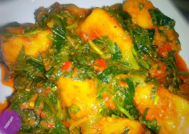 Turn to Food to Improve Your Mood Asaro (ji agwuru agwo)