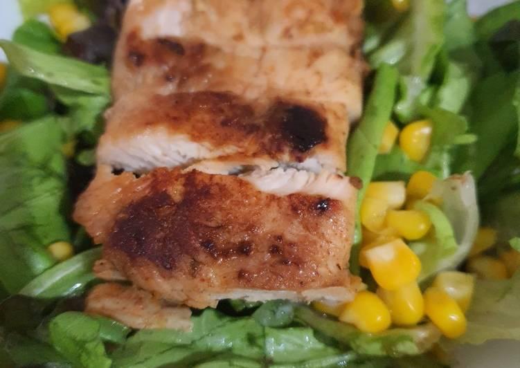 Cara Mudah Untuk Mempersiapkan Enak Ayam Panggang Teflon Menu Diet