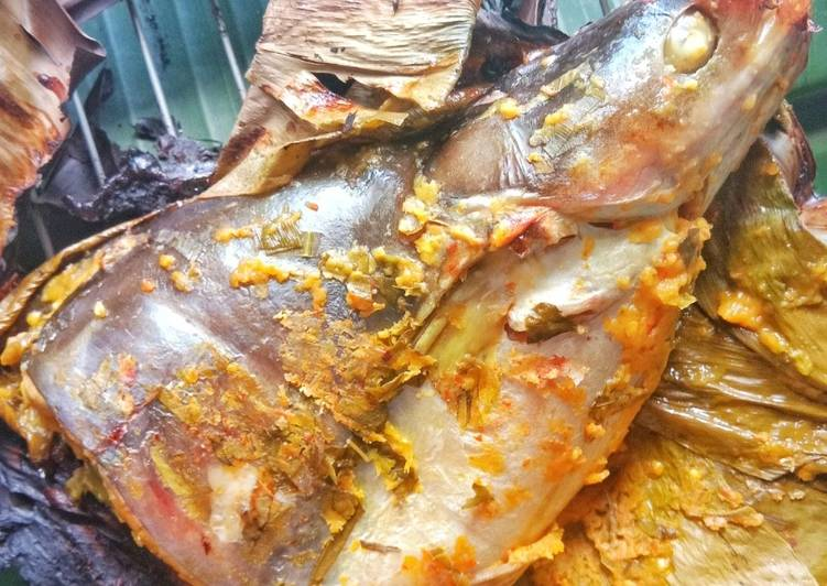 Pais tempoyak ikan patin #maratonraya #ikan #mingguketiga