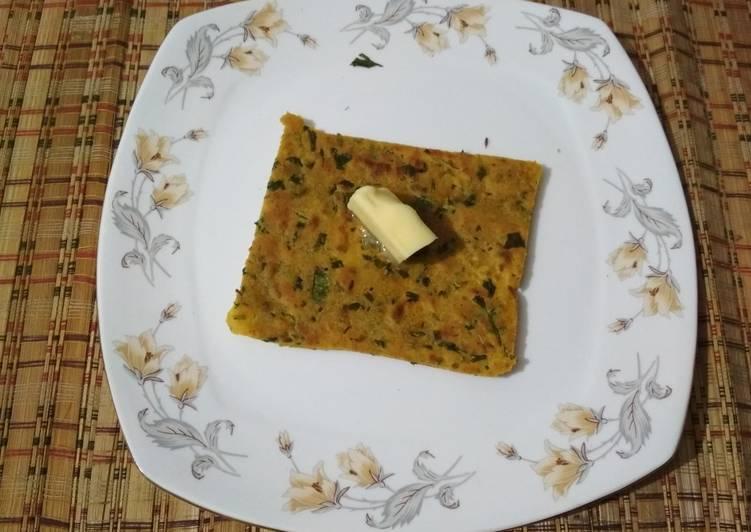 Recipe of Perfect Hare Dhaniya ka paratha