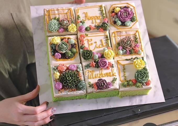 Homemade Cake Potong Lebaran