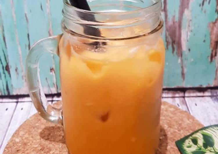 Resep Thai Tea (Ala Dum2) yang Bisa Manjain Lidah