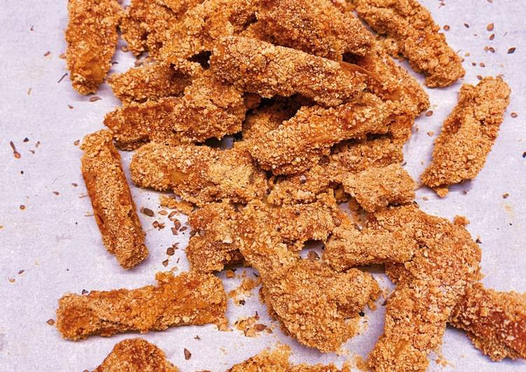 Vegan Baked 'Chicken' [Tofu] Strips