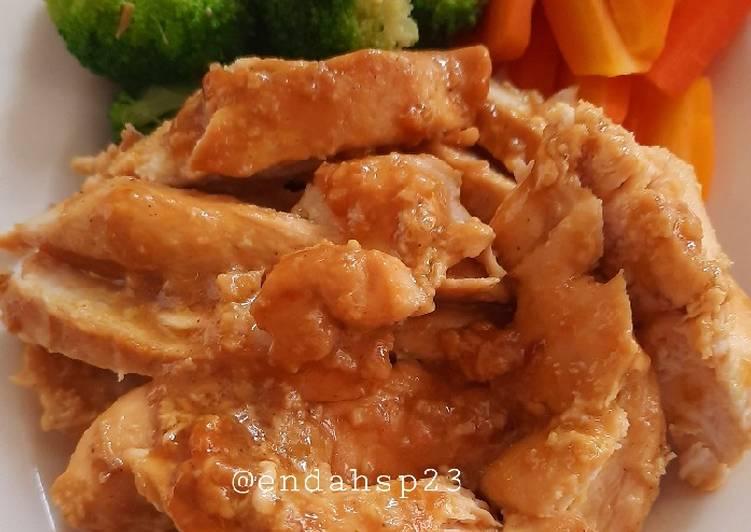 Ayam Panggang Saus Mustard - cookandrecipe.com