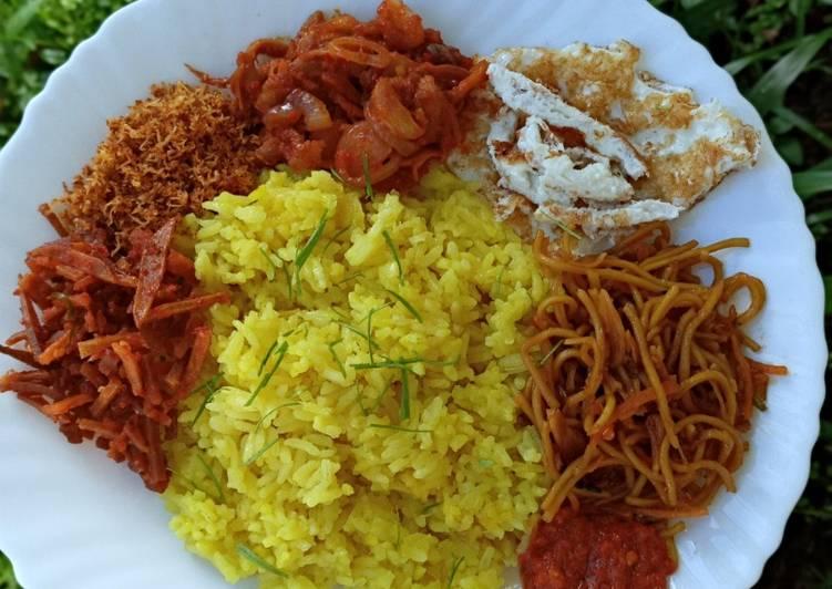 Nasi Kuning majigcom tanpa SANTAN