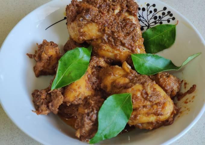 Butter/ ghee chicken roast