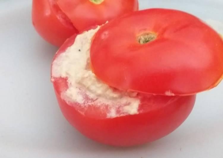 Tomate farci au thon