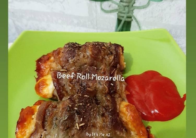 Beef Roll Mozarella