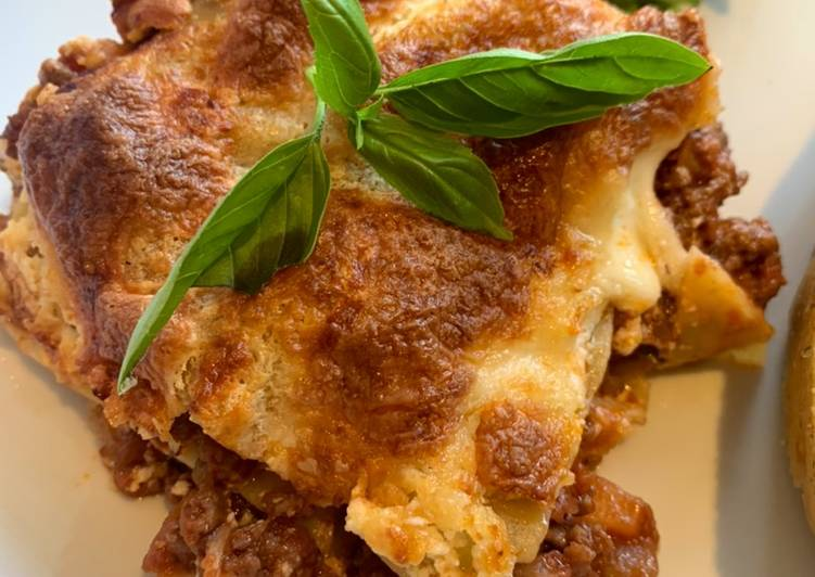 Recipe: Perfect Just Lasagne, my way