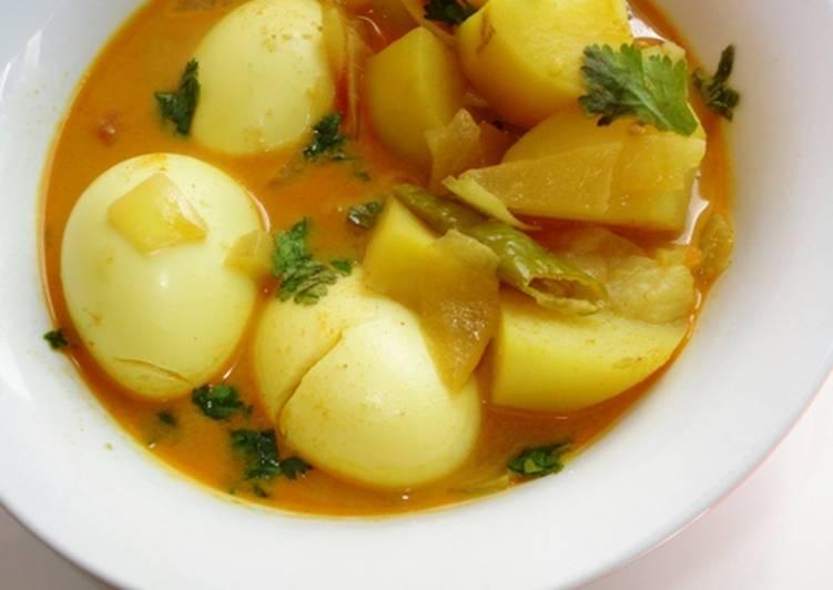 25 Minute How to Make Favorite Eggs n Potatoes Curry