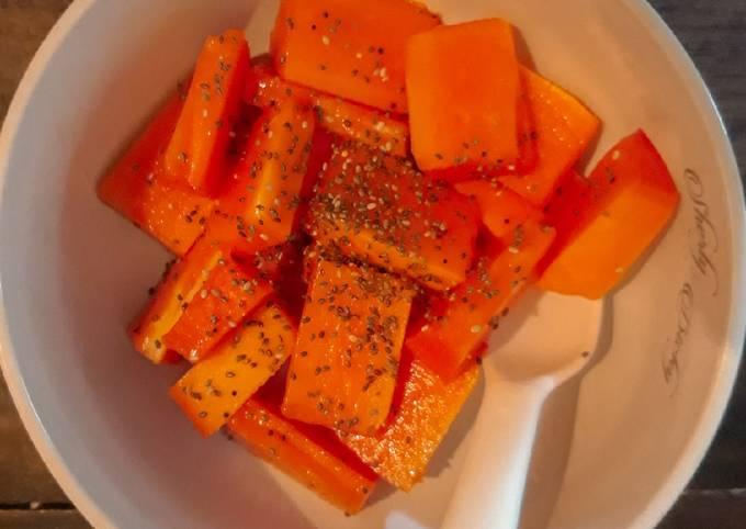 Simple pepaya (diet) 91 kalori