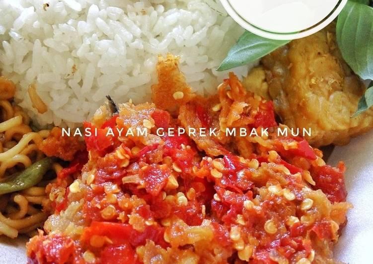 Resep Ayam Geprek Sederhana Oleh Maya Setiawan Cookpad