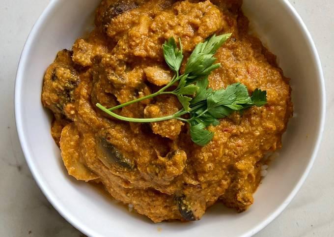 Mushroom Curry #vegan #easyrecipe