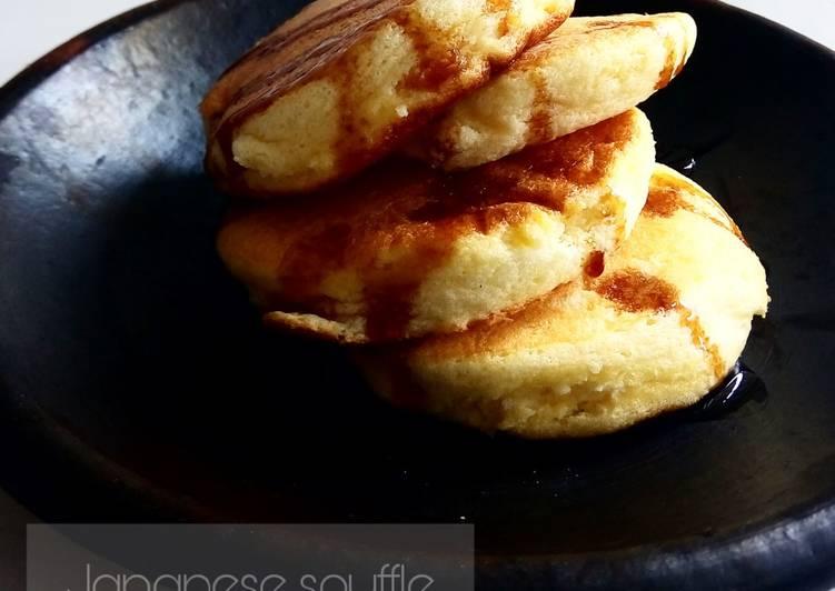 Resep Japanese Souffle Pancake Bikin Laper