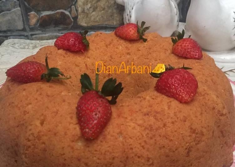 resep masak Bolu Keju Panggang Tanpa SP/BP/Soda Kue - Sajian Dapur Bunda
