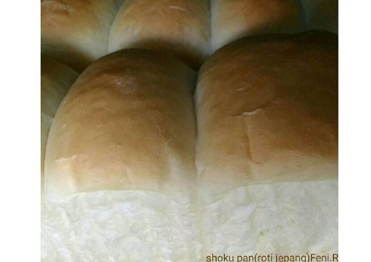 Resep Shoku-pan(roti tawar ala jepang)🍞 Top