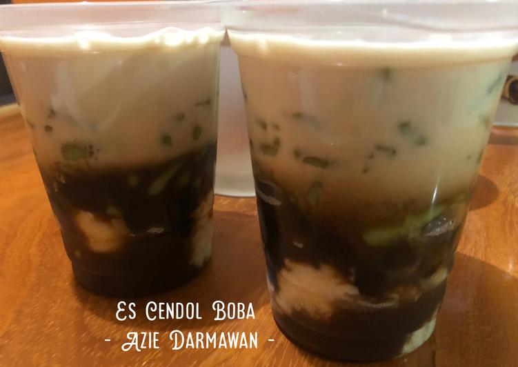 Resep Es Cendol Boba Oleh Azie Darmawan Cookpad