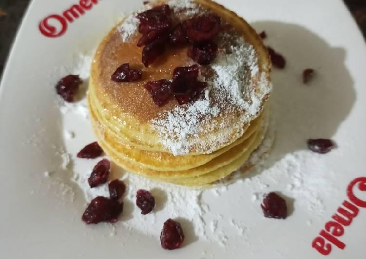 Resep Simple pancake Paling Joss