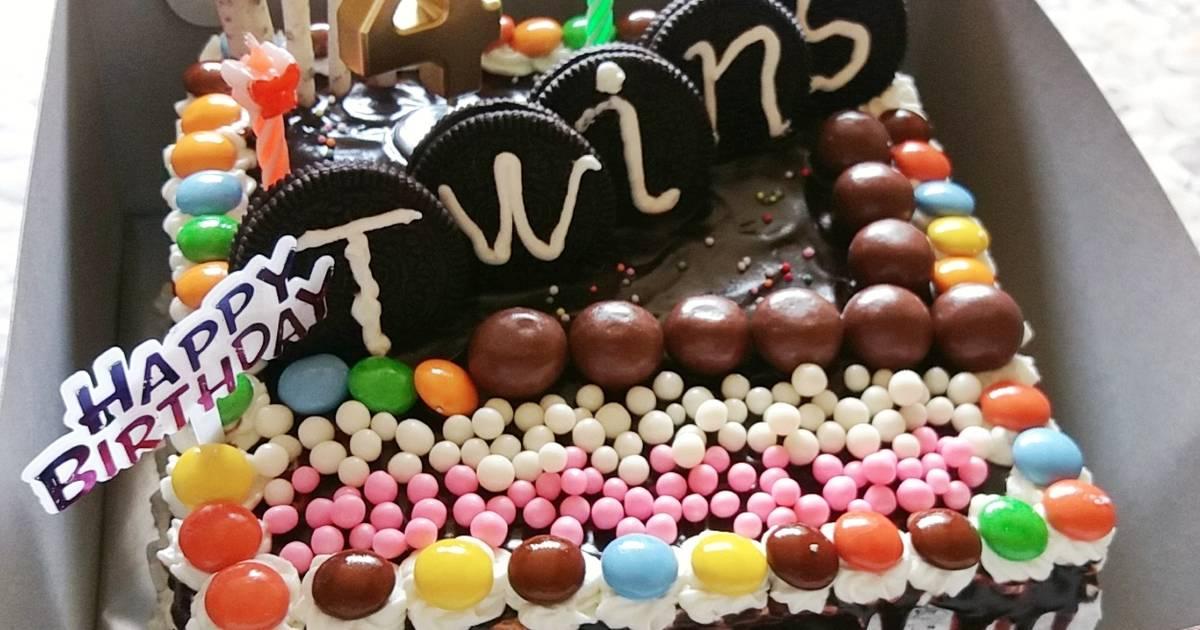 Resep Brownis Kukus Lembut Dan Irit Base Cake Ultah Oleh Mom Ev Cookpad