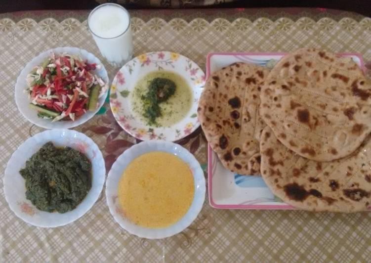 10 Minute Easiest Way to Prepare Homemade Desi Dastarkhan