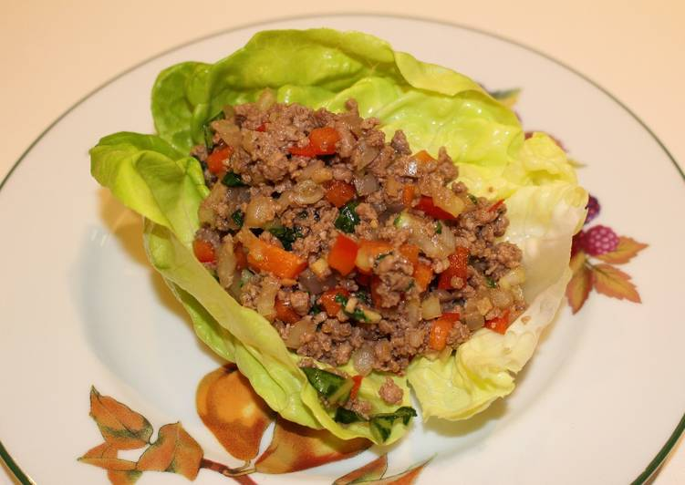 Foods That Can Make You Happy Moo Shu Beef Lettuce Wraps