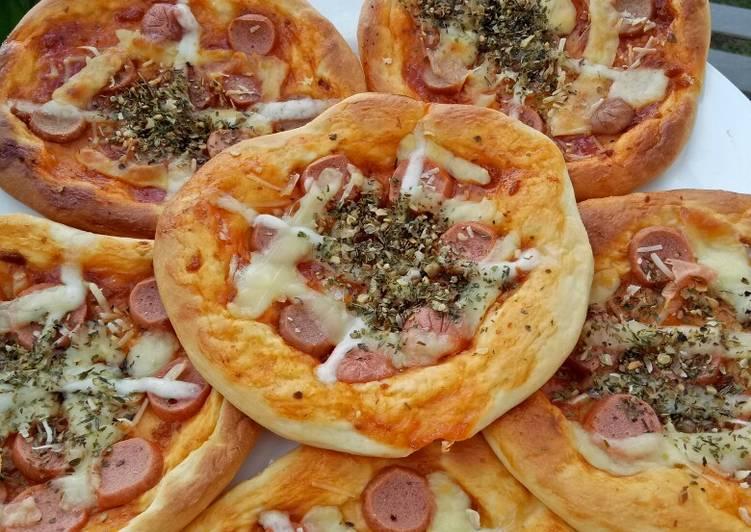 Pizza mini simple super empuk