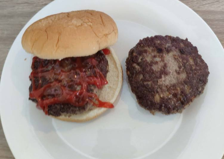 Basic Burger Homemade