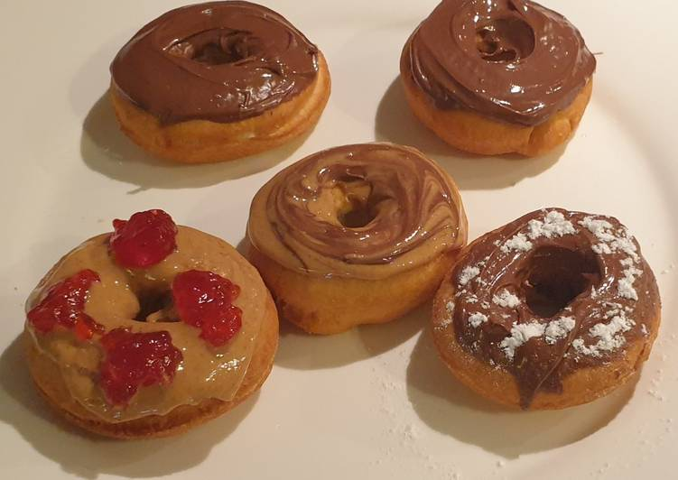 Steps to Prepare Any-night-of-the-week Doughnuts without Yeast