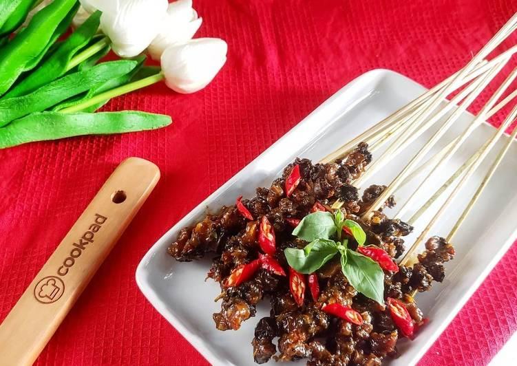 Sate Keong Pedas (no ribed)