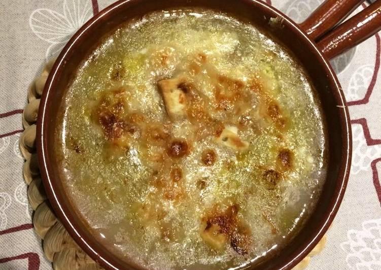 Ricetta Zuppa di cipolle 🥘