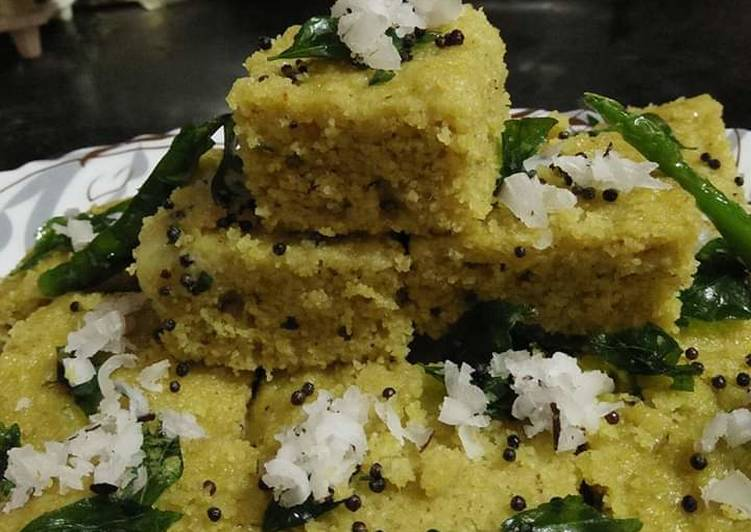 Easiest Way to Make Favorite Hara Dhokla