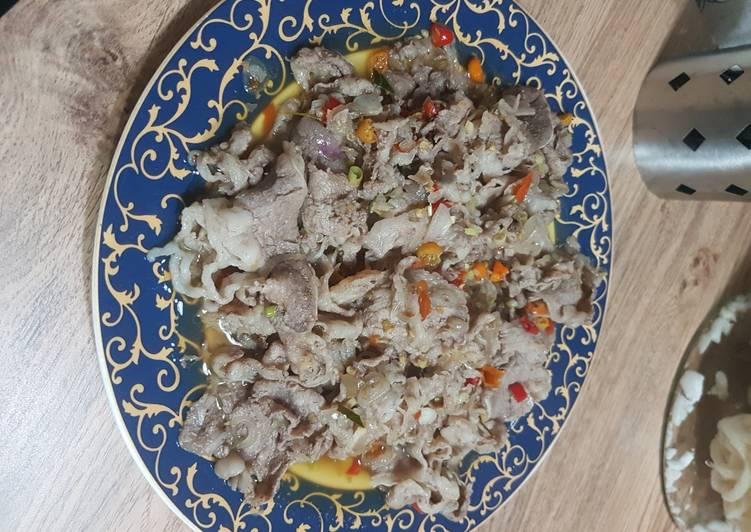 Daging Sambal Matah