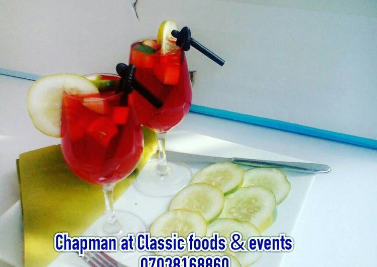30 Minute Simple Way to Make Homemade Chapman with cucumber