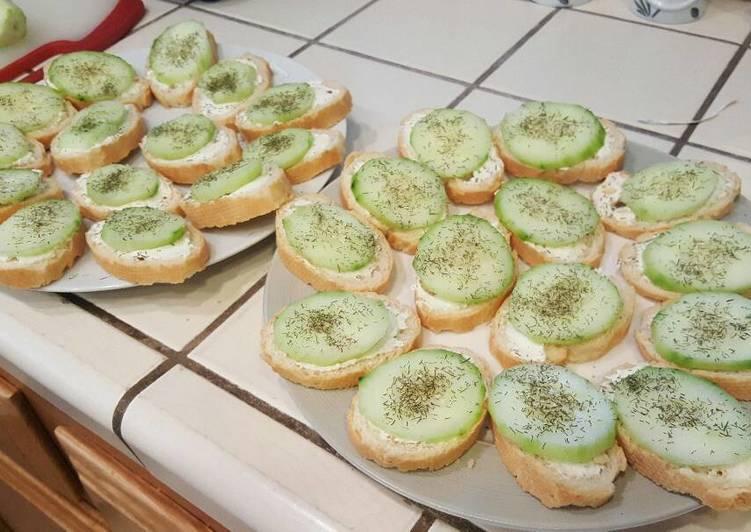Cucumber Toasties