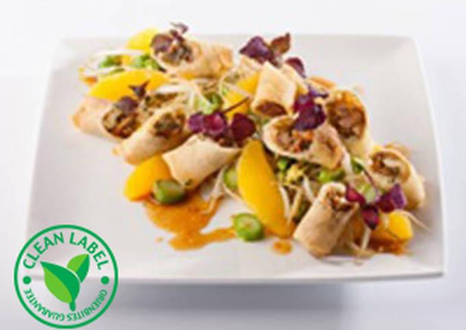 Recipe: Delicious Wok Duck Spring Roll