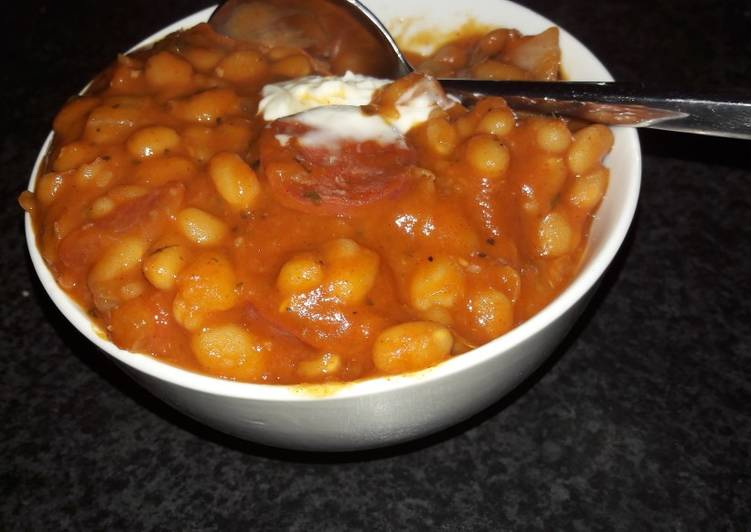 Delicious Baked beans surprise