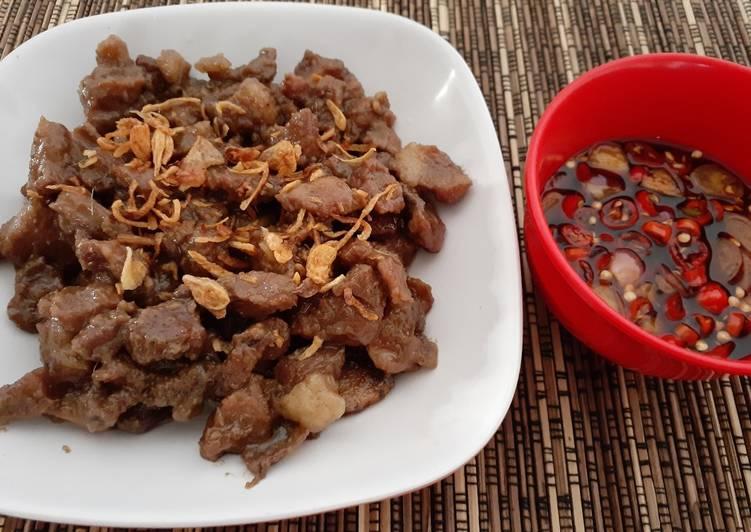 Resep Sate kambing goreng Top