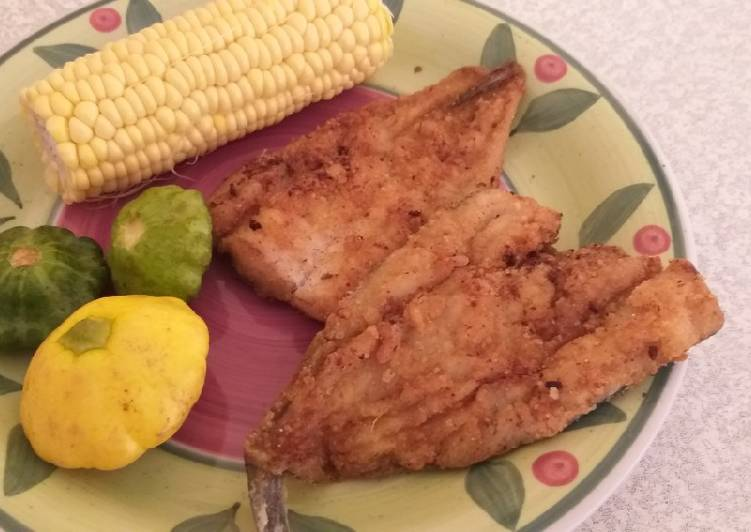 Steps to Prepare Any-night-of-the-week Fried fish without eggs