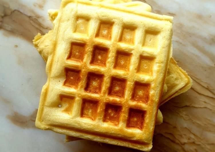 Recipe of Super Quick Homemade Waffles
