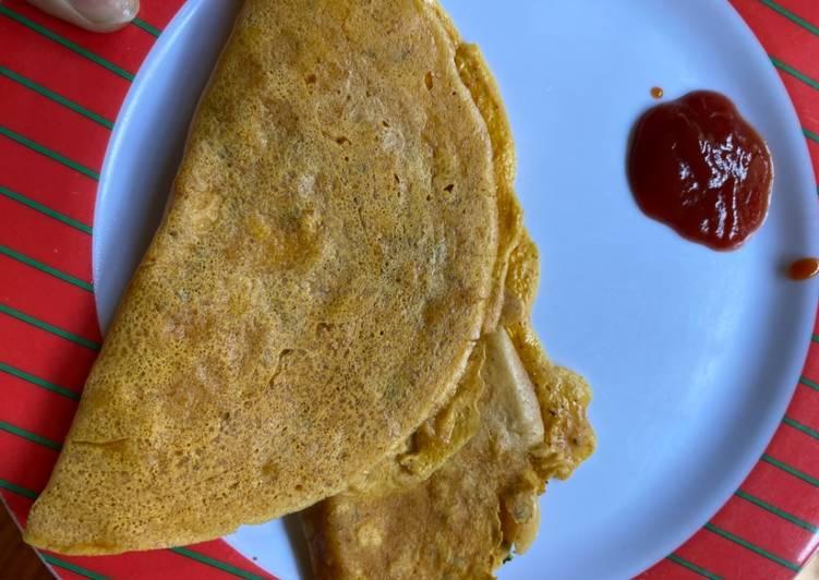 Simple Way to Prepare Super Quick Homemade Besan chilla