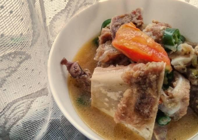 How to Make Appetizing Iga Masak Cabai Hijau / Ribs in Green Chillies Sauce