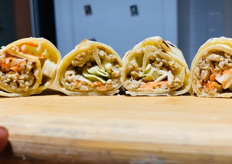 Simple Way to Prepare Top-Rated Chicken wraps