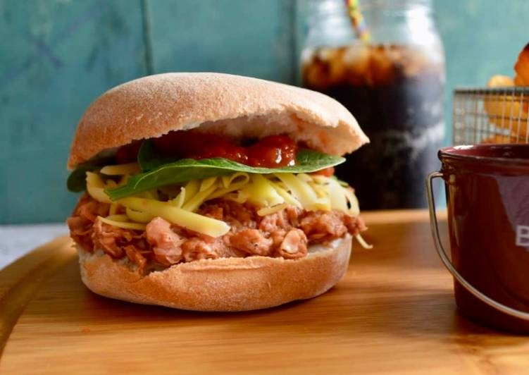 25 Minute Recipe of Ultimate BBQ Jackfruit Buns