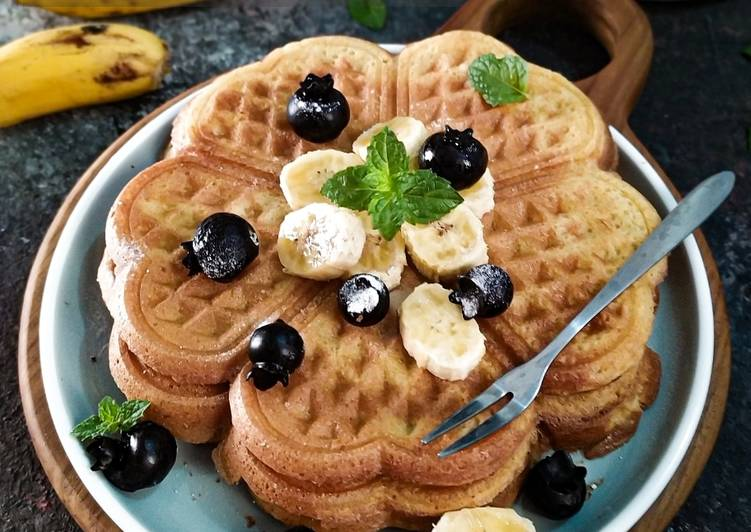 Resep Waffle Top