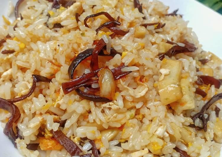 Nasi Goreng Jamur Kuping