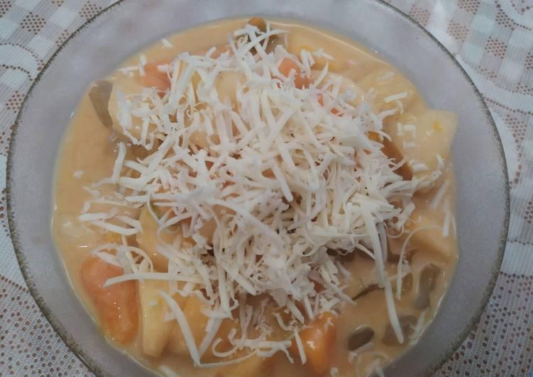 Salad buah suka-suka - cookandrecipe.com