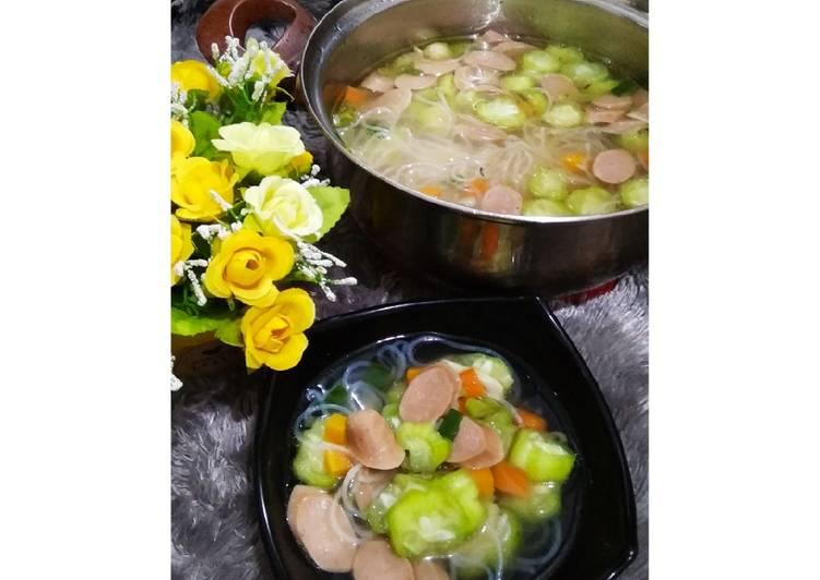 Sayur Oyong Sosis